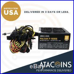 110v 220v 1600w Power Supply Similar to EVGA or Corsair Minus Expensive Price