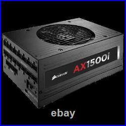 1500W Corsair Modular Power Supply AX1500i PSU 80 Plus Titanium Free Shipping