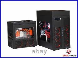 5 Custom Hand Sleeved Modular 30cm Corsair Power Supply PSU Cables UK Seller