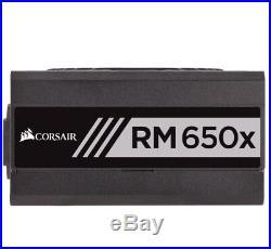 5B1 CORSAIR RM650x Modular PSU 650 W PC Power Supply Unit Computer Components