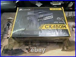 ASUS TUF B550 SocketAM4, AMD Motherboard AND Corsair CX450M Power Supply ATX PSU