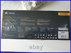 AX Series AX1000 1000 Watt 80 PLUS Titanium Certified Fully Modular ATX PSU