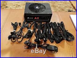 AX1200i Corsair Digital ATX Power Supply modular 1200 watt 80+ SLI/crossfire
