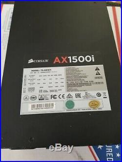AX1500i Digital ATX Power Supply 1500 Watt Fully-Modular PSU with Cables