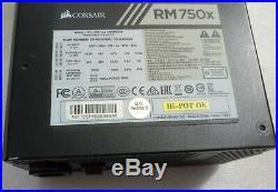 Alimentation Pc EPS Corsair RM750X 750 Watts 80 Plus Gold