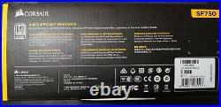 BRAND NEW! Corsair SF750 750 Watt SFX 80+ Platinum Certified SFF PSU