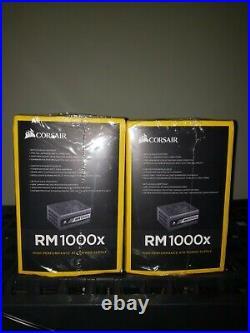 Brand New Corsair HX1000 1000W 80 Plus Platinum Modular Power Supply PSU evga