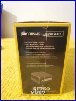 Brand New /Sealed Corsair SF Series SF750 750 Watt Platinum SFX SFF PSU