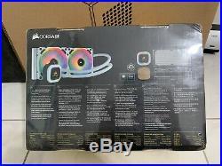 COMBO Corsair RM850x 850w PSU & H100i Platinum RGB SE AIO- White Edition
