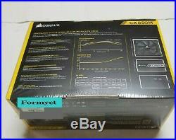 CORSAIR 850W CX850M V2 CP-9020157-NA 80 PLUS Semi-Modular PS Brand New