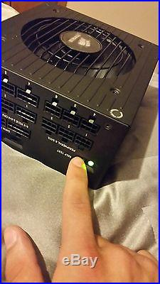 CORSAIR AX Series AX860i 80 PLUS PLATINUM PSU ATX Fully Modular Power Supply