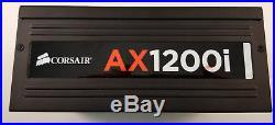 CORSAIR AX1200i DIGITAL ATX POWER SUPPLY 80 PLUS PLATINUM EFFICIENCY 1200 WATT