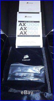 CORSAIR AX1200i Digital 1200 Watt 80 PLUS PLATINUM Modular Power Supply