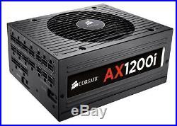CORSAIR AX1200i Digital ATX Power Supply 1200 Watt 80 PLUS Platinum Modular