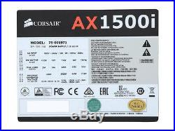 CORSAIR AX1500i 1500W 80 PLUS PLATINUM POWER SUPPLY PSU