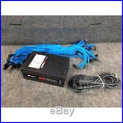 CORSAIR AX1500i 1500W Digital ATX Power Supply, modular, Used