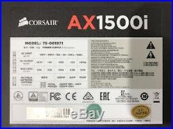 CORSAIR AX1500i 1500w TITANIUM POWER SUPPLY with CABLEMOD CARBON CABLE BUNDLE