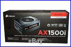 CORSAIR AX1500i Digital ATX Power Supply 1500 Watt Modular PSU Titanium 80+