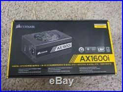 CORSAIR AX1600i 1600W TITANIUM ATX Power Supply (Open Box)
