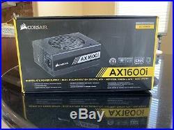 CORSAIR AX1600i 1600w ATX 80+ Titanium Certified Power Supply PSU with Box
