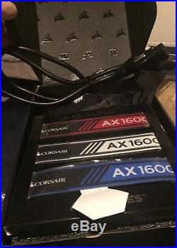 CORSAIR AX1600i Digital ATX Power Supply 1600 Watt Fully-Modular PSU Titanium