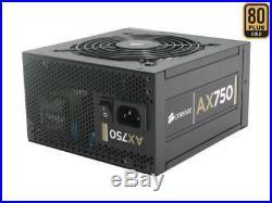 CORSAIR AX750 CMPSU-750AX 80 PLUS Gold Certified Fully-Modular Power Supply