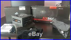 CORSAIR AX860I DIGITAL ATX POWER SUPPLY 860WATTS MODULAR VGC 80plus platinum