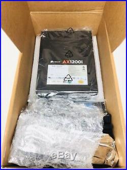 CORSAIR AXi Series, AX1200i, 1200 Watt, Fully Modular Digital Power Supply