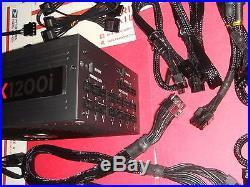 CORSAIR AXi Series AX1200i Digital 1200W 80 PLUS PLATINUM Haswell Full Mod BH294