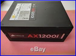 CORSAIR AXi Series AX1200i Digital 1200W 80 PLUS PLATINUM Haswell Ready No Cable