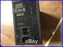 CORSAIR AXi Series AX1200i Digital 1200W 80 PLUS PLATINUM Mining Ready Full Mod