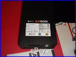 CORSAIR AXi Series AX1500i Digital 1500W 80 PLUS TITANIUM Haswell Modular BH299