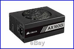 CORSAIR AXi Series, AX1600i, 1600 Watt, 80+ Titanium Certified, Fully Modular