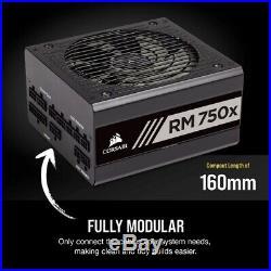 CORSAIR CP-9020179-NA RMX Series RM750X 750 Watt 80 Plus Gold Fully Modular