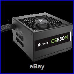 CORSAIR CS Serie Modular CS850M 850 Watt 80 PLUS Gold-zertifiziertes Netzteil