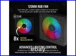 CORSAIR CX-F RGB Series CX750F RGB 750W 80 PLUS Bronze Fully Modular ATX Power S