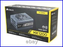 CORSAIR HX 1200W ATX12V 2.4/EPS12V 2.92 80+ Plus Platinum Modular Power Supply