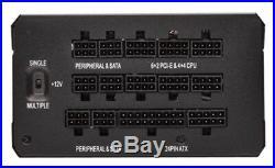 CORSAIR HX Series 1200W ATX12V 2.4/EPS12V 2.92 Modular Power Supply Black