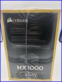 CORSAIR HX Series HX1000 CP-9020139-NA 1000 Watt 80 Plus Platinum Power Supply