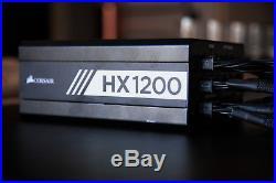 CORSAIR HX Series HX1200 1200 Wattt 80 Plus Platinum Power Supply