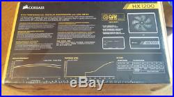 CORSAIR HX Series HX1200 CP-9020140-NA 1200W 80 PLUS PLATINUM