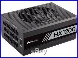 CORSAIR HX Series HX1200 CP-9020140-NA 1200W ATX12V v2.4 / EPS12V 2.92 80 PLUS P
