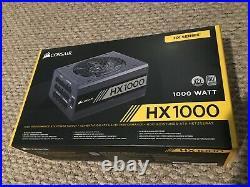 CORSAIR HX1000 80+ Platinum High Performance Power Supply Reliable Seller