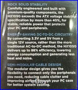 CORSAIR HX1050 ATX 1050 watt Power Supply 80 PLUS GOLD