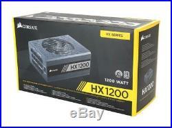 CORSAIR HX1200 CP-9020140-NA 1200W 80 PLUS PLATINUM Full Modular Power Supply