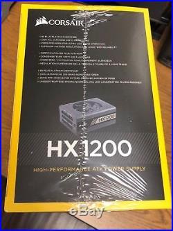 CORSAIR HX1200 CP-9020140-NA 1200W ATX12V v2.4 / EPS12V 2.92 80 PLUS PLATINUM