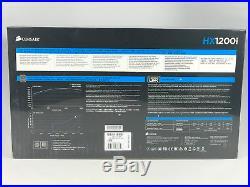 CORSAIR HX1200i, 1200 Watt, 80+ Platinum, Fully Modular, Digital Power Supply