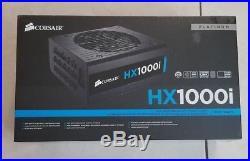 CORSAIR HXi Series, HX1000i, 1000 Watt, Fully Modular Digital Power Supply new