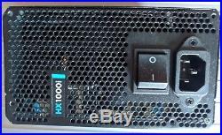 CORSAIR HXi Series HX1000i 1000W 80 PLUS PLATINUM Full Modular ATX Power Supply