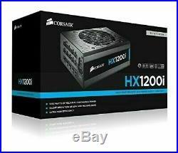 CORSAIR HXi Series, HX1200i, 1200 Watt, 80+ Platinum Certified Fully Modular PSU